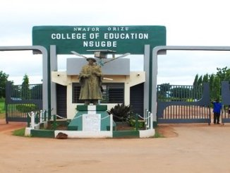 Nwafor Orizu College of Education, Nsugbe (NOCEN)