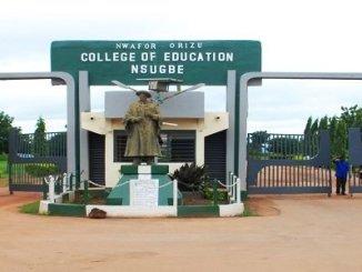 Nwafor Orizu College of Education, Nsugbe (NOCEN)