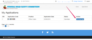 FRSC Recruitment Portal Form 2020/2021 - How To Apply, Login Page, Full Requirements