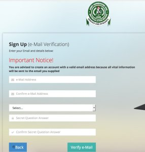 How to Create JAMB Online Profile