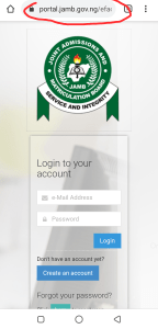 JAMB CAPS Login 2020 How to Check and Accept Admission | jamb.org.ng/efacility
