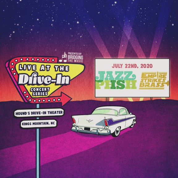 Bridging The Music has announced the Live at the Drive-In Concert Series