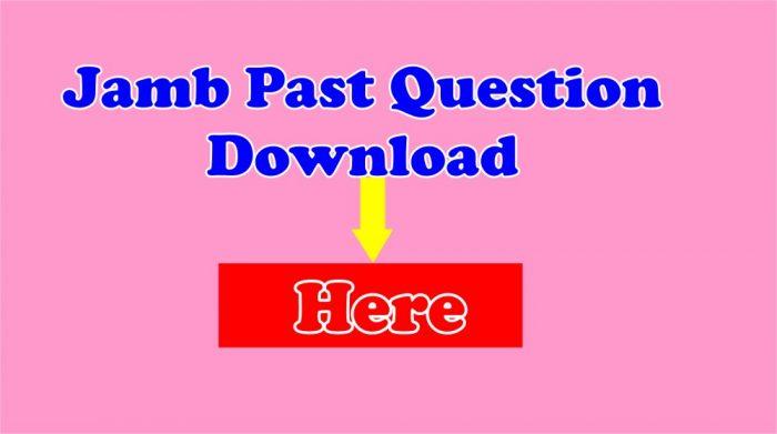 jamb past questions