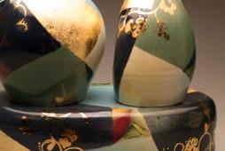 2 Vases w/ Pedestal (detail)