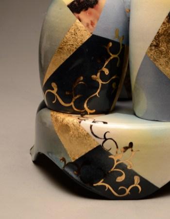 3 Vases w/ Pedestal (detail)