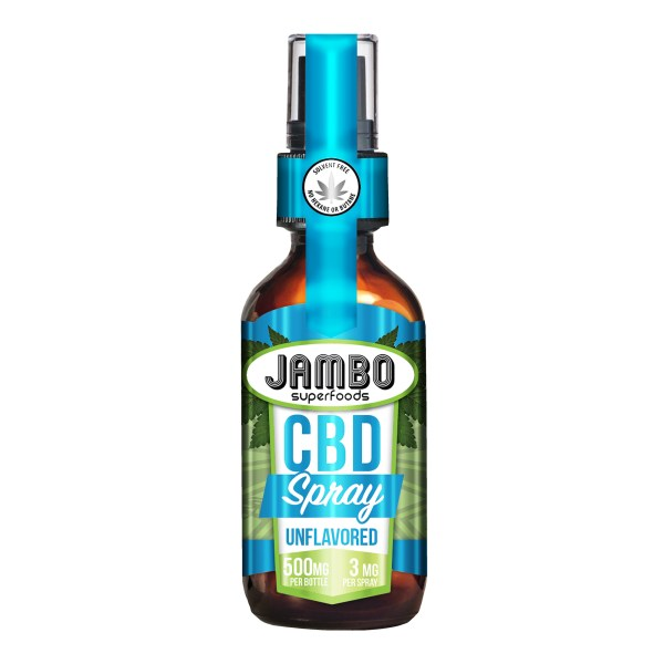 Jambo Superfoods CBD breath spray unflavored 500mg product image