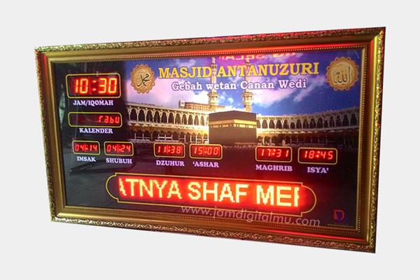 Jadwal Sholat Digital Masjid 3