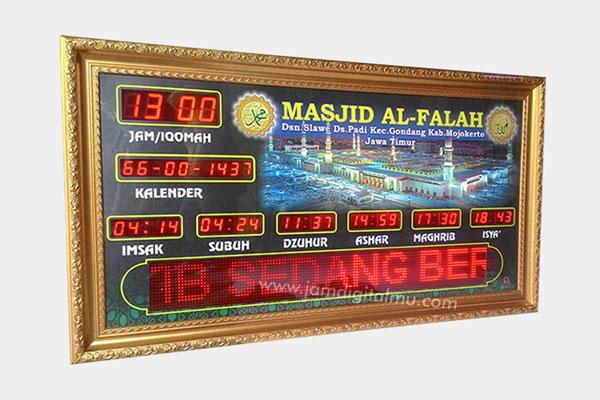 Jadwal Sholat Digital Masjid 4
