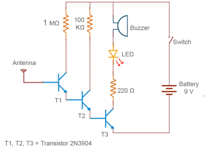 Build Your Own Non-contact Voltage Detector