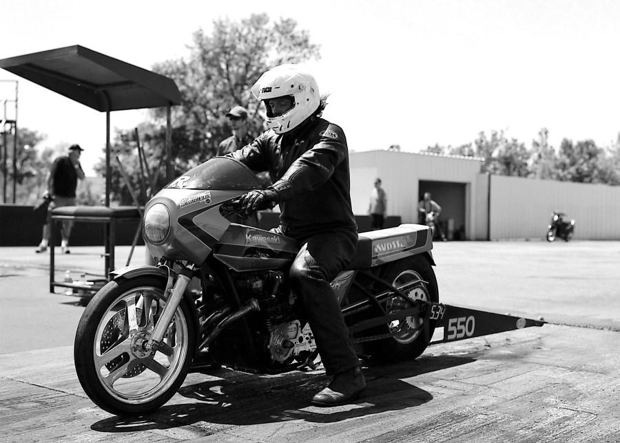 PMRA motorcycle drag racing at Tulsa Raceway Park