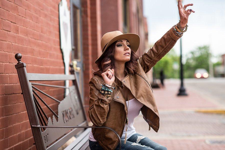 Micha Young fashion and lifestyle photoshoot.
