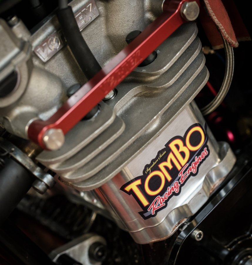 Detail shots from Tombo Racing