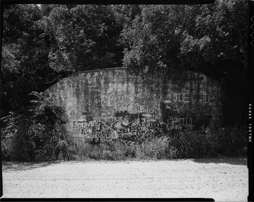 Graffiti Bridge in Logan County, Oklahoma