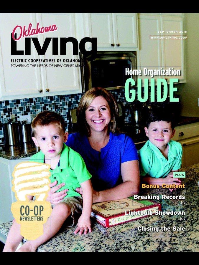 Oklahoma Living cover for September 2015