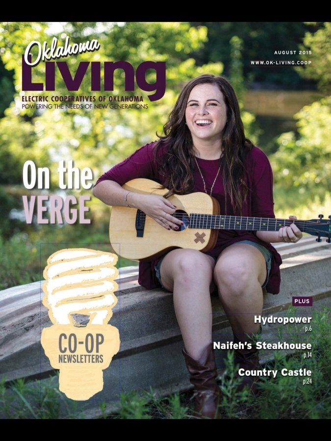 I shot this cover photo for Oklahoma Living Magazine at a small farm pond in Edmond.