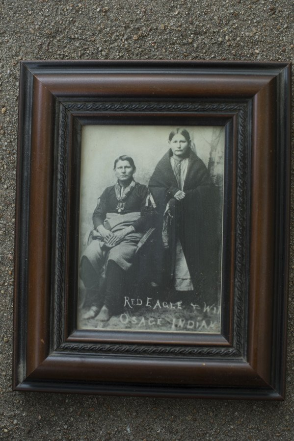 Not sure on this picture. I think Eddy Red Eagle's grandfather is in the picture.
