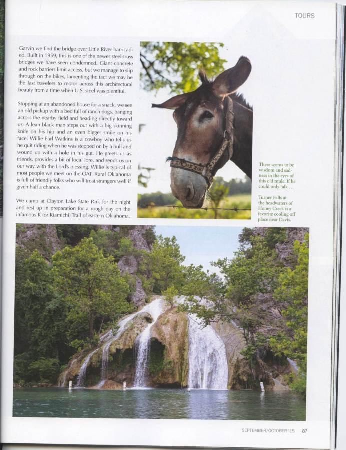 Roadrunner Magazine - OAT Story Page 6