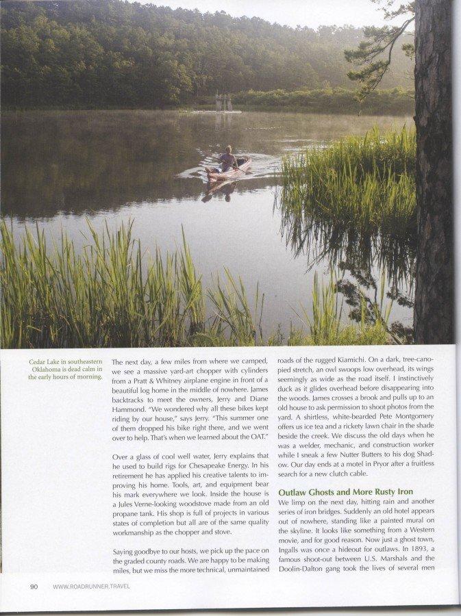 Roadrunner Magazine - OAT Story Page 9