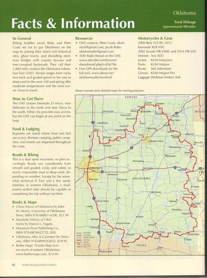 Roadrunner Magazine - OAT Story Page 11