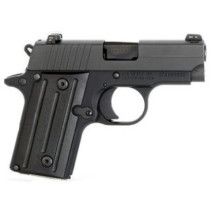 I fell in love with the SIG P-238 the first time I shot it. This diminutive pistol is solidly built, nearly as small as the Ruger LCP, yet much more accurate than either the Ruger or J-Frames. It was my default carry gun - until Paris and San Bernadino happened.