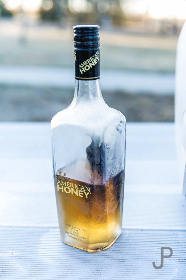 Vance Felder introduced me to Wild Turkey American Honey. We passed the bottle around while sitting around the campfire each night telling stories.