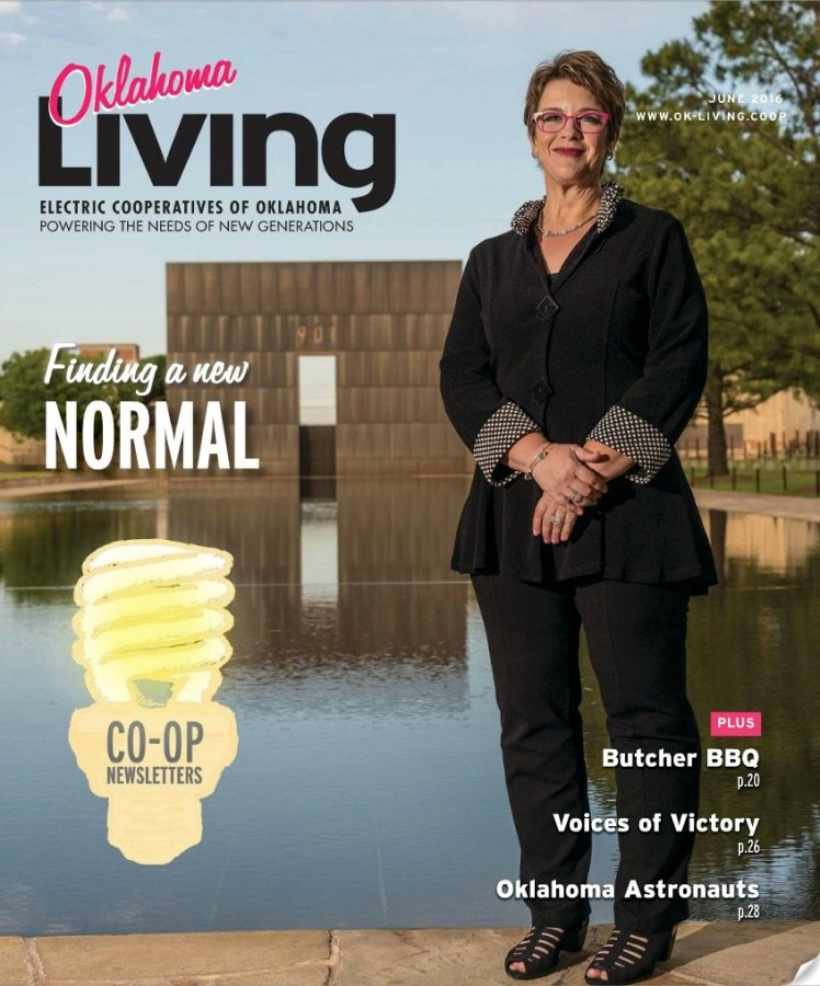 OK Living June 2016- Finding a New Normal Cover