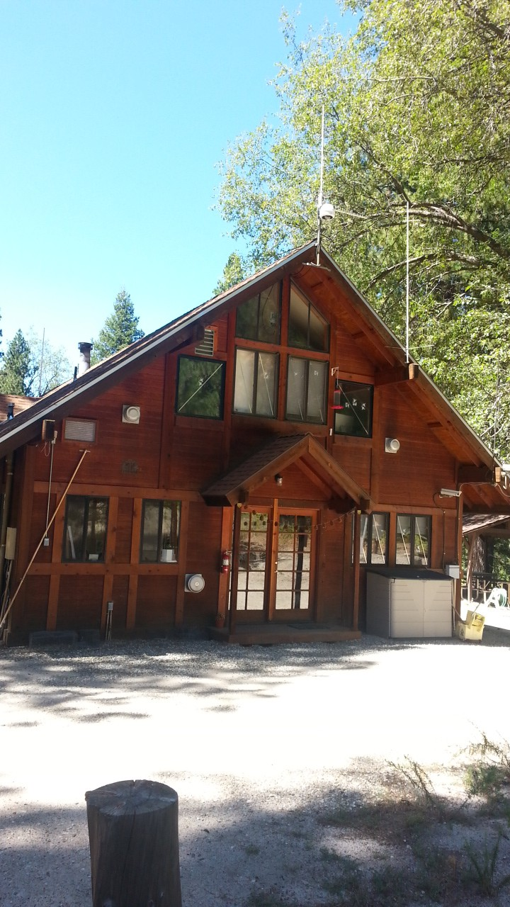 Trailfinder Lodge: Reserve Office plus meeting room and dormitory.
