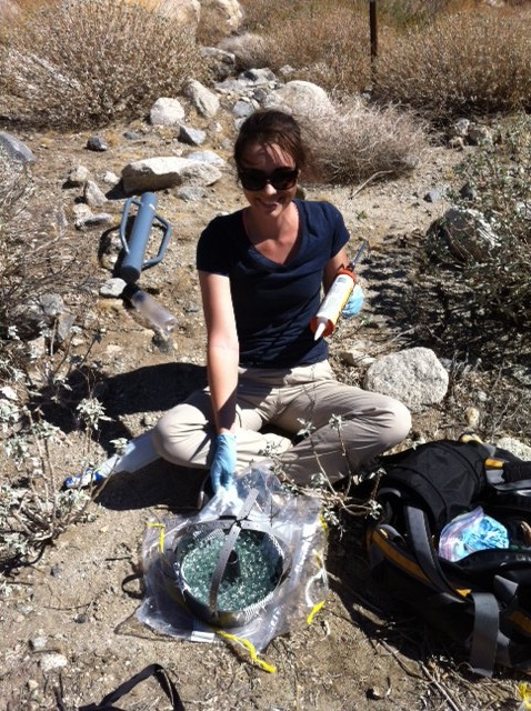 Dust microb work at Los Osos