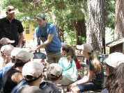 "Doctoral Student David Zonana talking to the ""supernaturalists"""