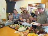 Celebration guests enjoying lunch