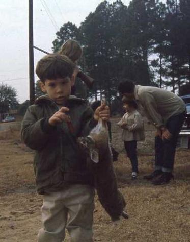 After a hunt in Georgia