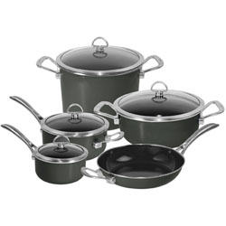 Chantal's Copper Fusion cookware set