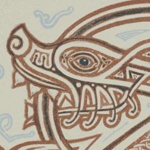 Helen wolf knot detail