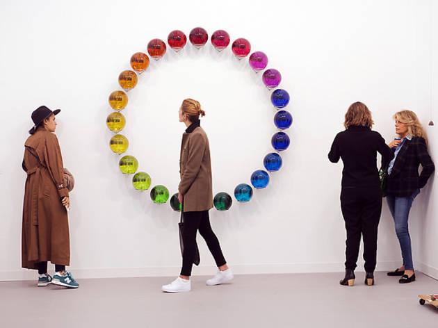 frieze london circle art