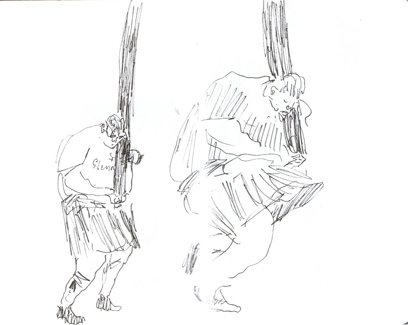 Highland Games Drawing Gallery