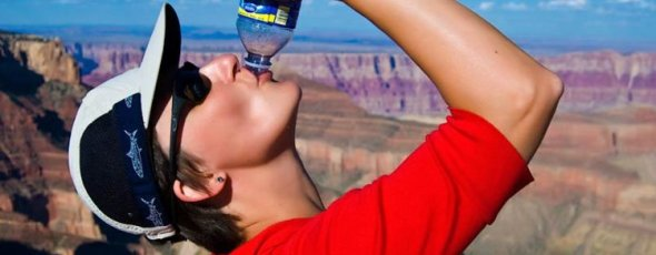 Bottled water facts James Alexander Michie