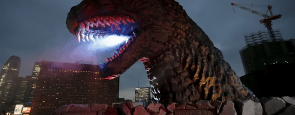 A full scale model of Godzilla in Tokyo CBC News | james Alexander Michie