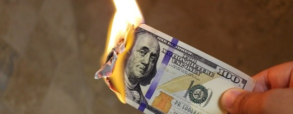 Burning Dollar SchiffGold | James Alexander Michie