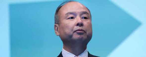 Corp. Chief Executive Officer Masayoshi Son CNBC | James Alexander Michie