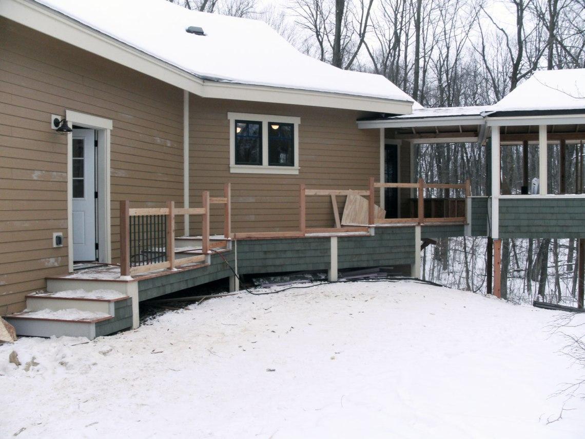 Outdoor Living Space | Custom Built | James Allen Builders