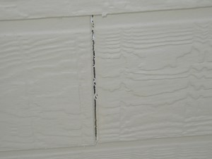 Cracked Siding Repair | Home Handyman | James Allen Builders