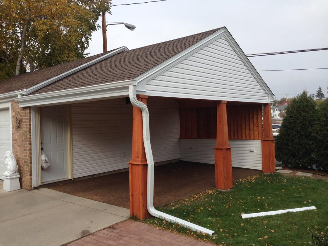 Carport Project | Custom Contractor | James Allen Builders
