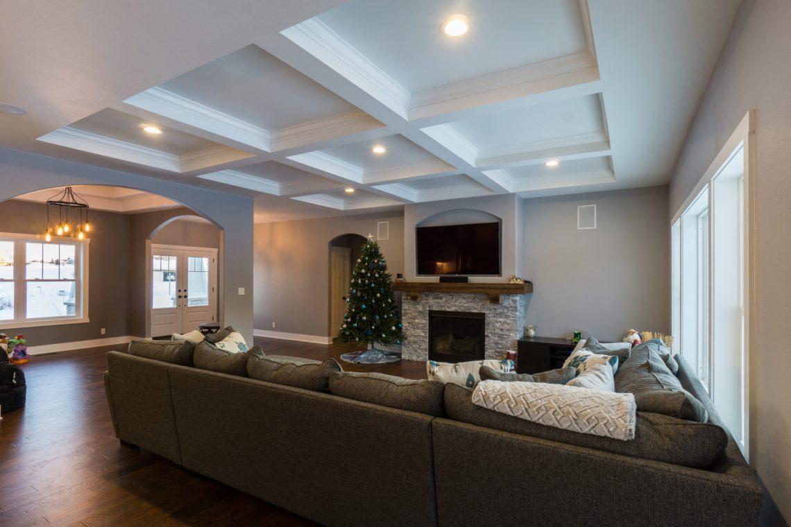 Custom Built Great Room | James Allen Builders | Southeast Wisconsin