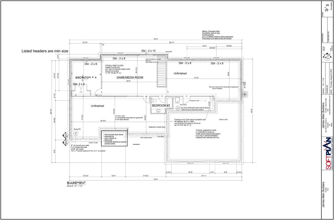James Allen Builders Model Home | Slinger WI