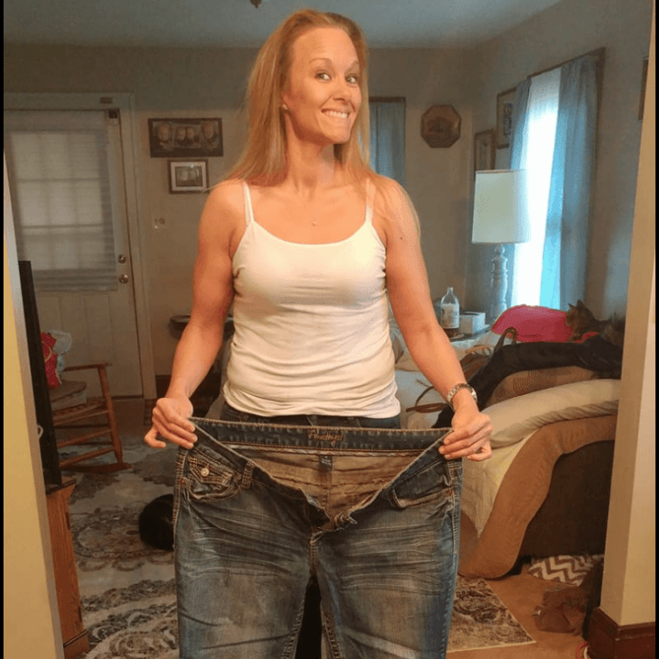 Erica's weight loss transformations