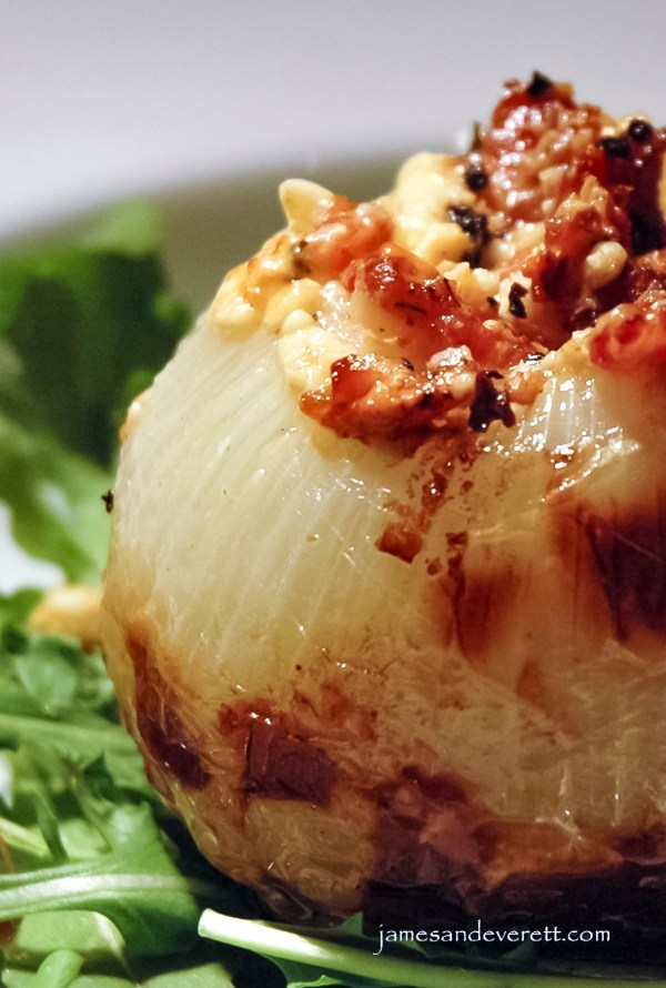 Grilled Stuffed Onion
