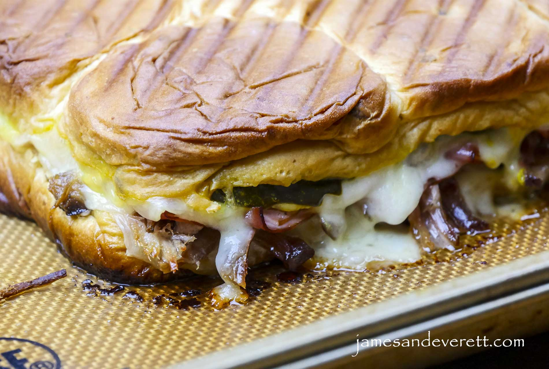 King's Hawaiian Cuban Sliders