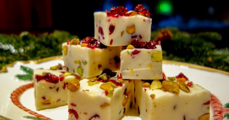 Cranberry & Pistachio Dream Fudge