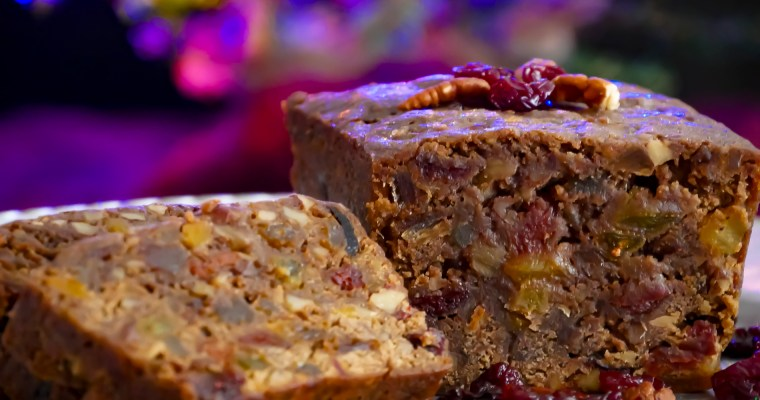 Spiced Rum Fruit Cake