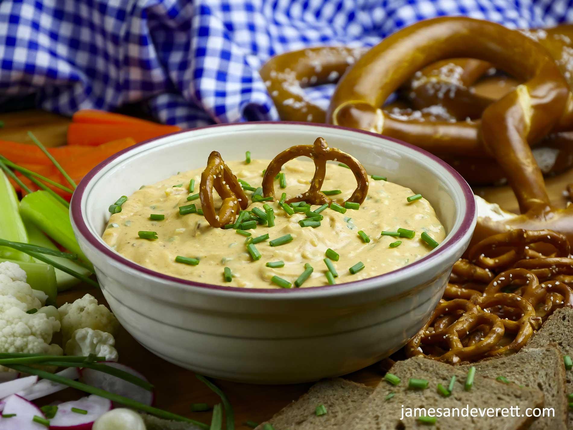 Obatzda ~ Bavarian Cheese Dip